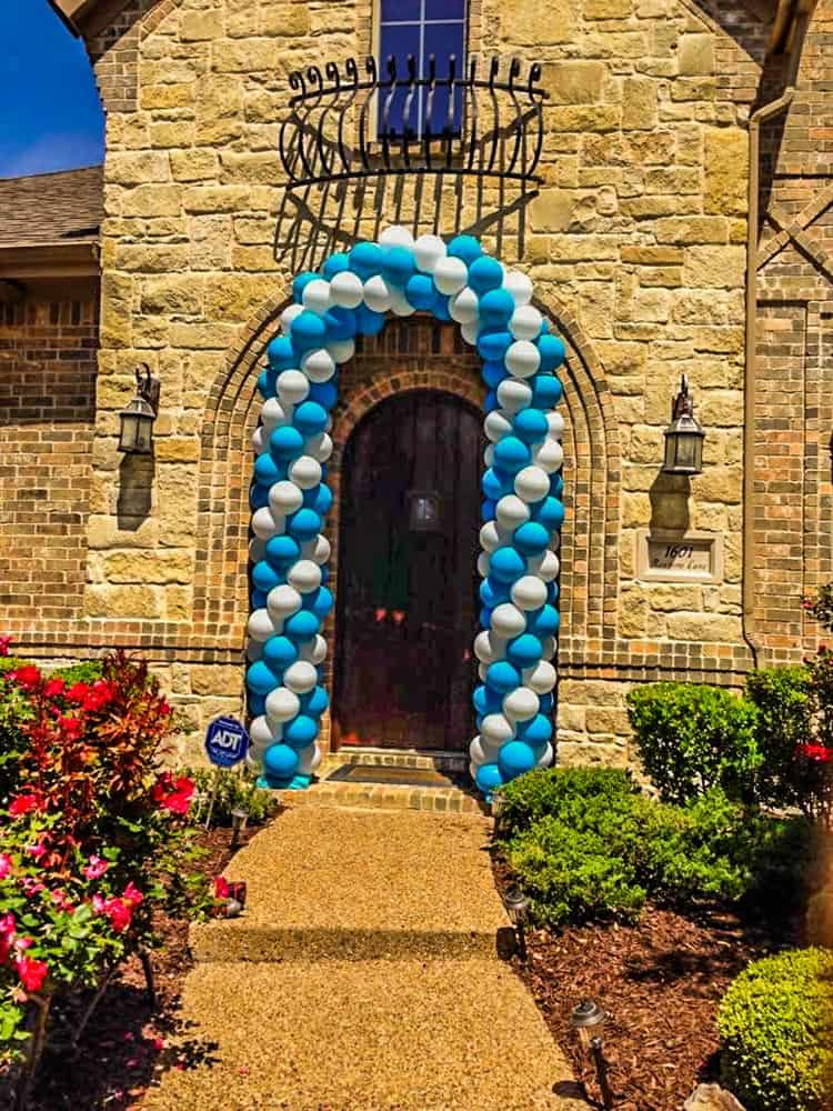 Door Balloon Arch
