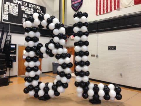 Bishop Lynch Balloon Letters