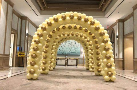 Golden Custom Arches